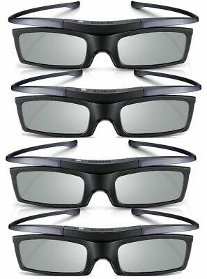 2X 4K HD UHD SUHD Active TV 3D Glasses For TV SSG-5100GB SSG-5150GB Black