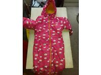Regatta waterproof all in one winter aged 1 to 2 years