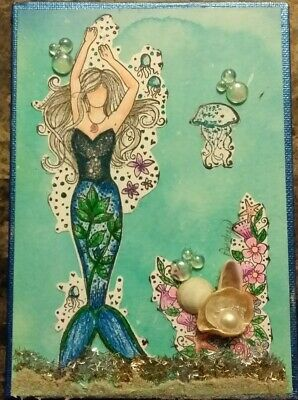Mermaid In Blue and Green