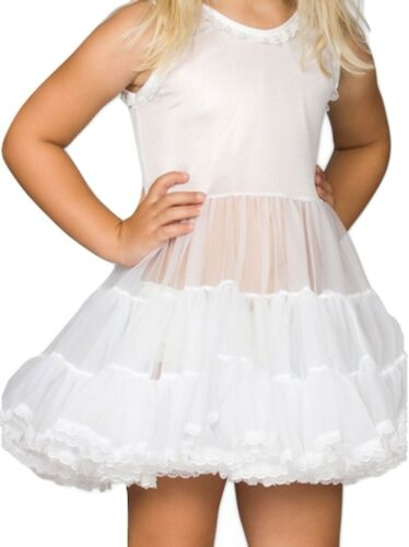 Girls Infant Full Slip Bouffant Petticoat Crinoline Ruffles  6M 12M 18M 24M USA