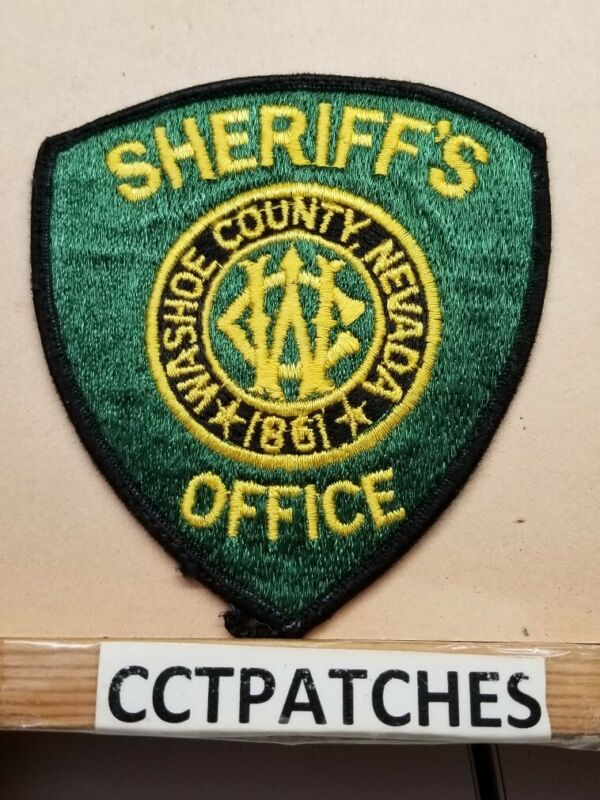 WASHOE COUNTY, NEVADA SHERIFF OFFICE (POLICE) SHOULDER PATCH NV
