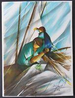Poulet ,raymond, - I Pescatori - Litografia Originale Firmato Numerato450ex -  - ebay.it