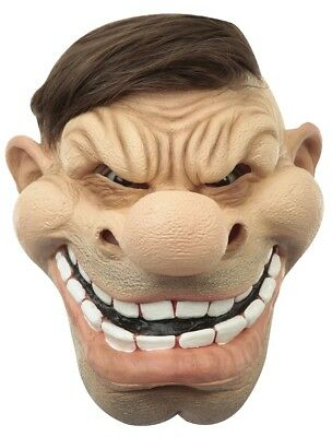 Schnozzle Open Top Hair Opening Adult Latex Mask Character Butt Chin Funny New