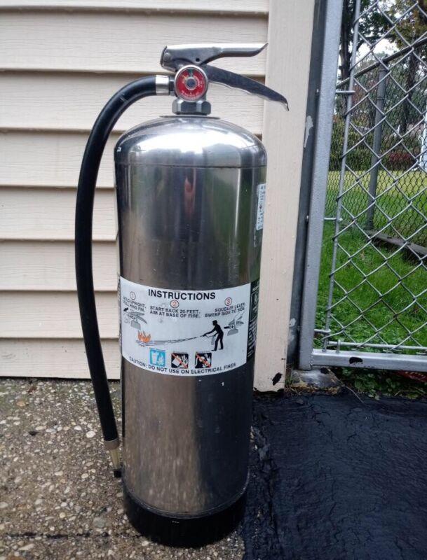 AMEREX  Fire Extinguisher 2.5 Gal Water