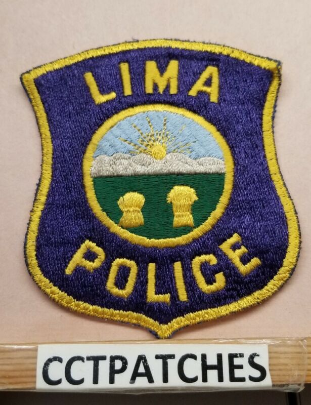 LIMA, OHIO POLICE SHOULDER PATCH OH