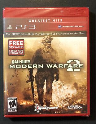 Call Of Duty Modern Warfare 2 [ Greatest Hits ] (PS3) Nuevo