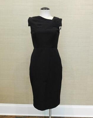 Dresses Promotion (JCrew $148 Promotion Dress Sz 4 Black F0759 Work Suiting Office)