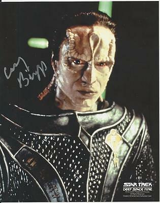 Casey Biggs - Star Trek DS9 signed photo