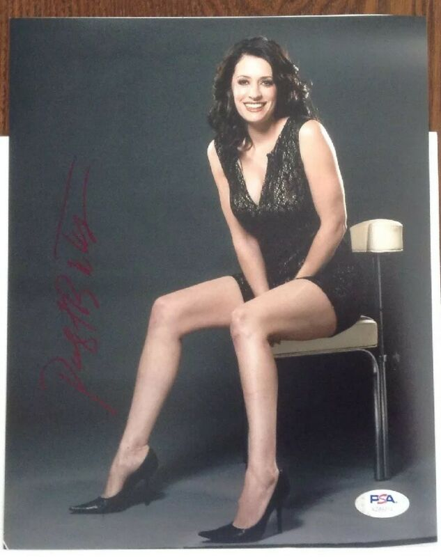 Paget Brewster Criminal Minds Hand Signed PSA/DNA Authenticated 8x10 Photo