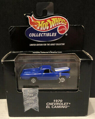 Hot Wheels Limited Edition 1970 Chevrolet El Camino in Display Case!
