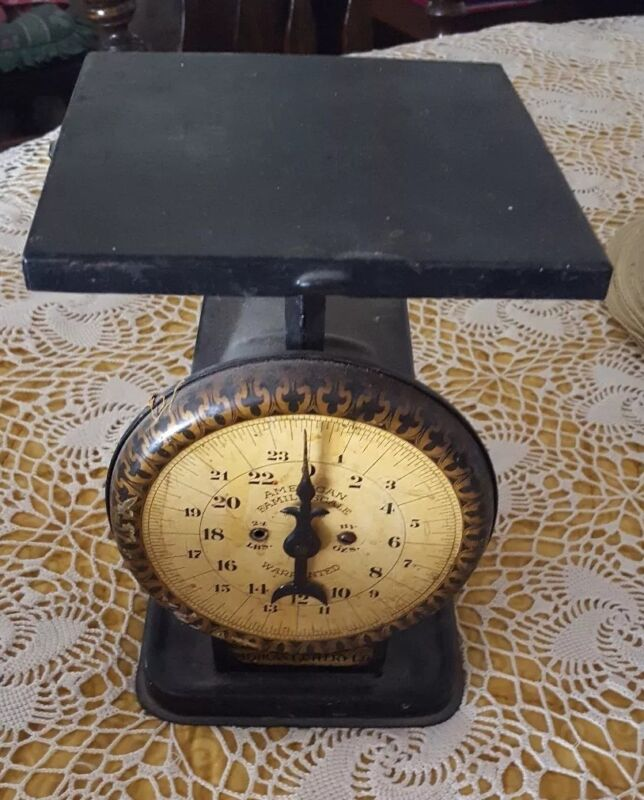 ANTIQUE ◇ AMERICAN FAMILY SCALE ◇ WORKS  WELL ◇ GREAT CONDITION