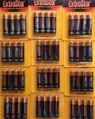 48 pilas AA Pack ahorro especial duración en 4 uni.1,5V R6 AA...