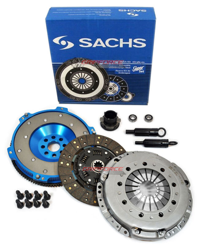 SACHS-FX STAGE 2 DISC CLUTCH KIT & ALUMINUM FLYWHEEL BMW M3 Z3 M COUPE ROADSTER