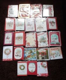 JOB LOT CHRISTMAS CARDS ALL NEW SEALED
