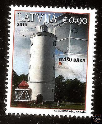 2016 LATVIA LETTLAND LETTONIE  LIGHTHOUSES OF LATVIA - OVISI LIGHTHOUSE MNH