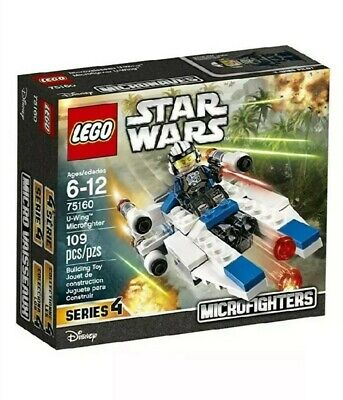 New and Sealed LEGO 75160 Star Wars U-Wing Microfighters Set Series 4