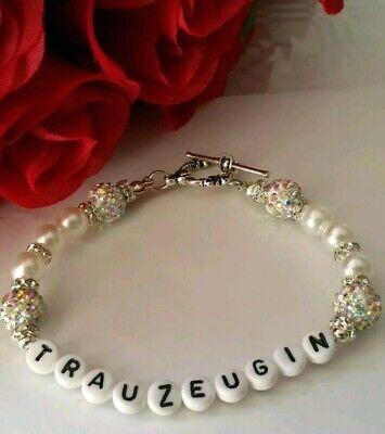 gen,  Hochzeitschmuck Handarbeit, Hochzeitsgeschenk, Armband  (Hochzeit Geschenke Für Trauzeugen)