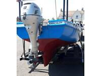 15.5 ft Fibreglass Fishing Boat