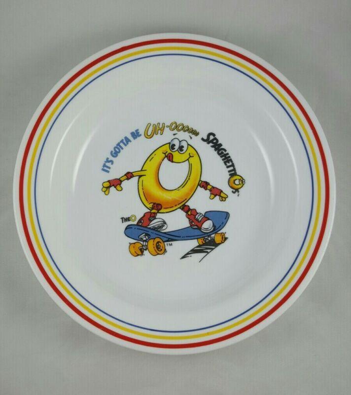 """Vintage Corelle SpaghettiOs Bowl Skater Skateboarding Collectible Dish 8.5"""""""