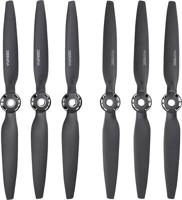 Yuneec - Quick-Release Propellers for Typhoon H Plus (6-Count) - Black