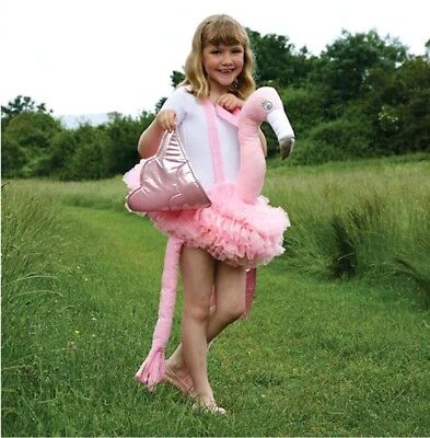 Ride on Flamingo by Travis Dress Up By Design book day outfit dress up costume ()