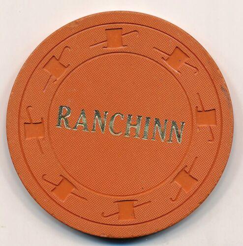RanchInn Elko 2nd issue $1 chip 1955