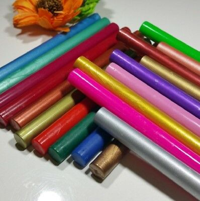 Wax Sealing Sticks For Melting Gun Stamp Letter Envelope Wedding Vintage UK