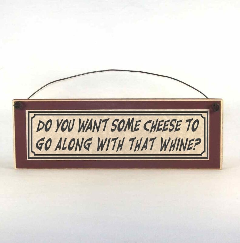 Do You Want Some Cheese To Go Along With That Whine? Funny parenting signs