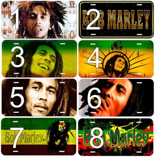 Bob Marley Aluminum Novelty Auto Car License Plate