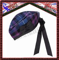 Pride Of Scozia Scozzese 100% Lana Glengarry Cappello Scozzese Highland -  - ebay.it