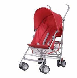 OBaby Stroller Buggy Red