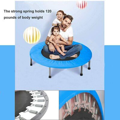 Trampoline Kid Trampoline Portable Trampoline For Kids With Handrail And Padded Fitness Equipment & Gear