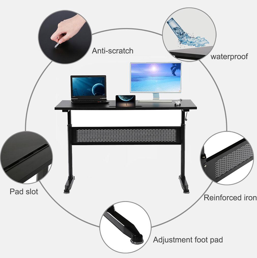 Standing Desk Adjustable Height Desk Stand Up Desk Sit Stand Desk For Laptop 48″ Business & Industrial