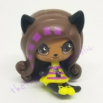 Mattel Halloween Monster High Minis Season 1 Blind Box Figure - Clawdeen Wolf - Monster High Halloween Wolf Doll