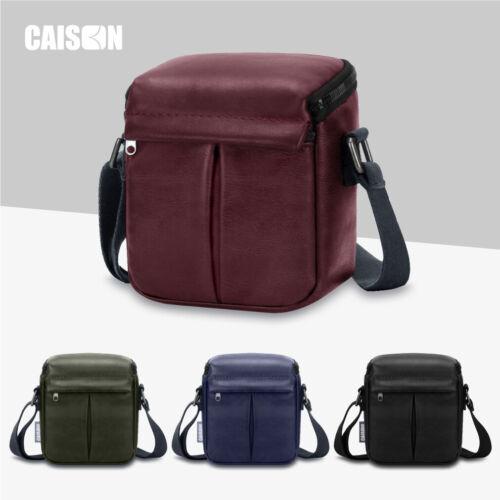 PU Leather Camera Case Shoulder Bag For Canon PowerShot G5 X