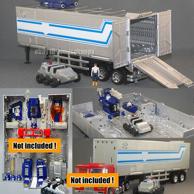 KBB Transport Trailer Container For MP10V G1 Optimus Prime Figure Voyager Size