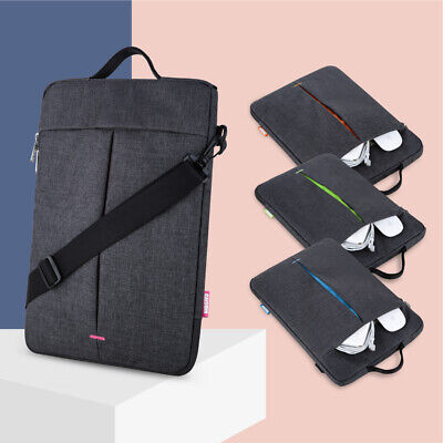 "Laptop Case Shoulder Messenger Bag For 2019 13"" MacBook Pro Air 12.9"" iPad Pro"