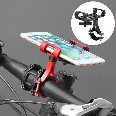 Motorcycle Bike Motorbike Handlebar Phone Holder GPS Mount For iphone Samsung UK