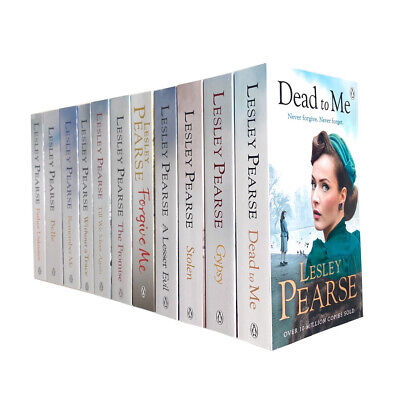 Lesley Pearse 11 Books Collection Set Stolen, Without a Trace, Forgive Me, Belle