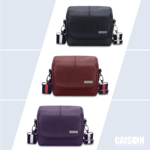 PU Leather DSLR Digital Camera Case Shoulder Bag For Canon N