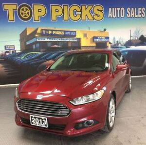 2013 Ford Fusion SE SPORT, CHROME WHEELS, NAVIGATION!