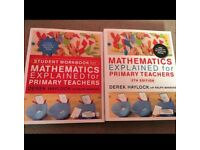 Maths Teaching books