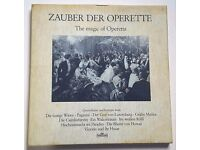 Opera Box Set - Zauber Der Operette The Magic of Operetta - Intercord 185.823