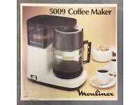 Retro Moulinex 5009 coffee maker.