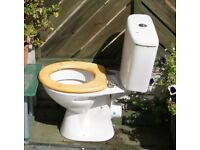 Toilet, complete. 1/2 yr. old, FOR FREE