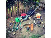 Everything you need to start gardening business! Honda Lawn Mower + Stihl kombi in perfect condition