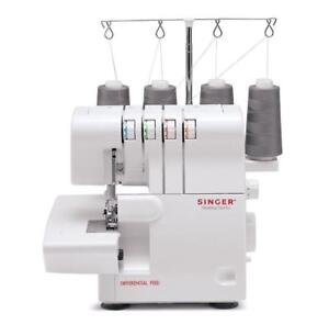 SINGER 14SH654 Finishing Touch 3-4 Thread Serger With Machine Intro DVD