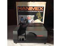 Hanimex slide projector