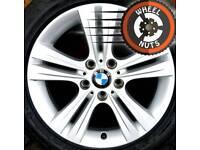 "17"" Genuine BMW alloys Renault Trafic Vauxhall Vivaro excellent cond premium tyres."