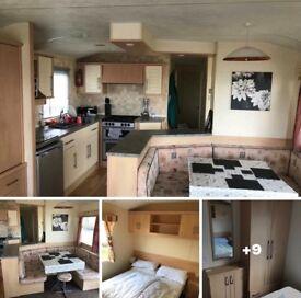 8 Berth caravan for rent